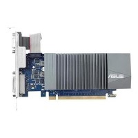 ASUS GT710-SL-2GD5-BRK GeForce GT 710 2 GB DDR5 Low Profile Graphics Card for Silent HTPC Build