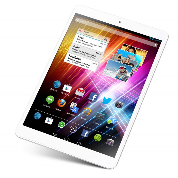 GoTab Mini 7 85 Quad Core 1GB 16GB 7 85 inch Android 4 2 2 Jelly Bean  Tablet in White