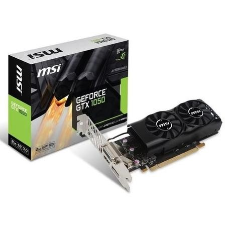 MSI GeForce GTX 1050 2GB GDDR5 Low Profile Graphics Card