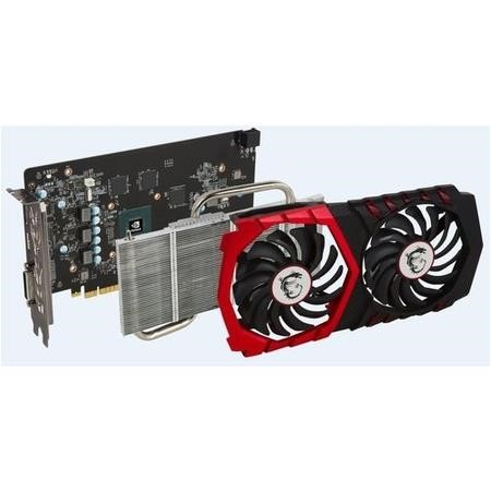 MSI GAMING X GeForce GTX 1050 2GB GDDR5 Graphics Card