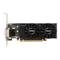 MSI GeForce GTX 1050 Ti 4GB GDDR5 Low Profile Graphics Card
