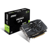 MSI Aero ITX GeForce GTX 1070 8GB GDDR5 OC Graphics Card