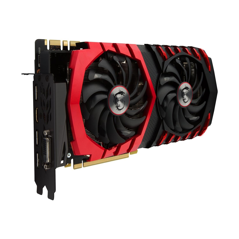 GRADE A1 - MSI GAMING GeForce GTX 1080 8GB GDDR5X Graphics Card