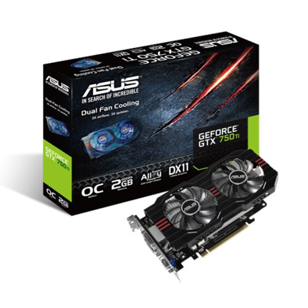 Asus NVidia GeForce GTX 750 2GB Graphics Card