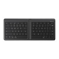 Microsoft Universal Bluetooth Foldable Keyboard in Black