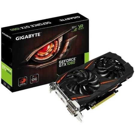 Gigabyte WindForce GeForce GTX 1060 6GB GDDR5 OC Graphics Card