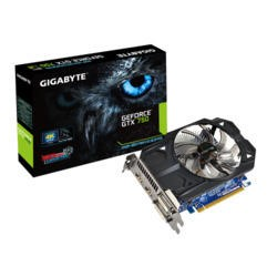 Gigabyte NVidia GeForce GTX 750 2GB Graphics Card