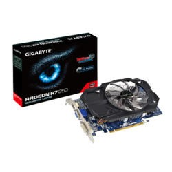 Gigabyte AMD Radeon R7 250 Overclocked 2GB DDR5 PCI-E Graphics Card