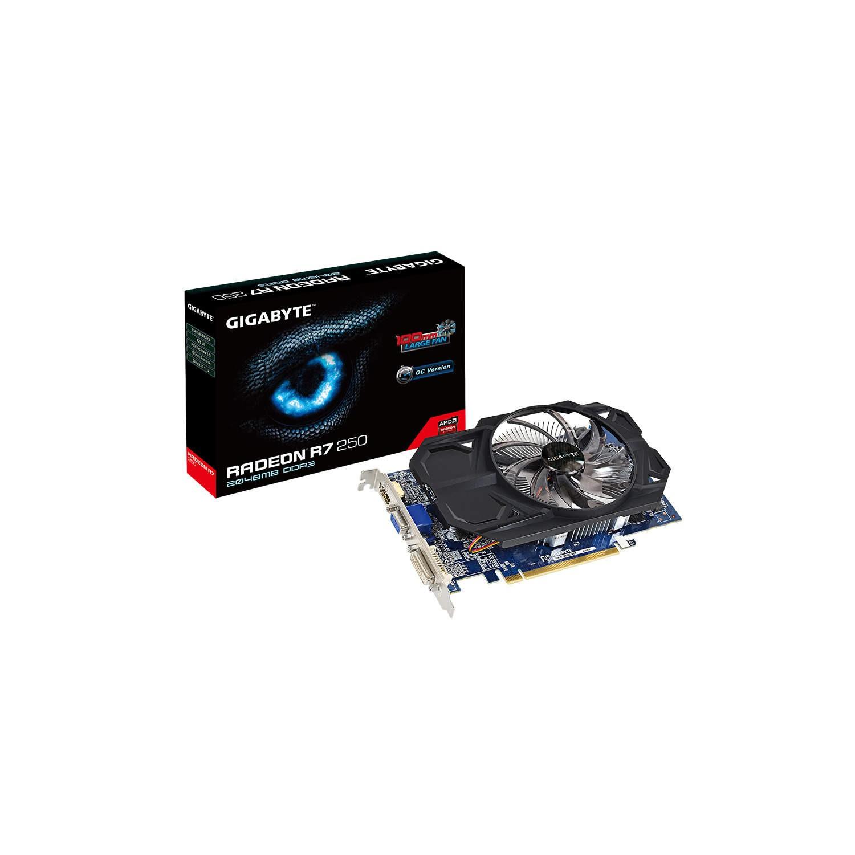 Gigabyte AMD Radeon R7 250 Overclocked 2GB DDR5 PCI-E Graphics Card