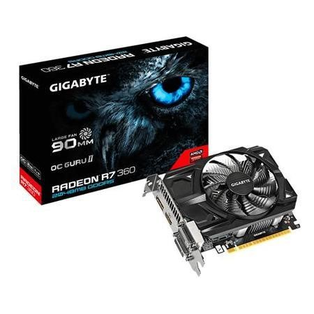 Gigabyte AMD Radeon R7 360 2GB 128bit GDDR5 Graphics Card