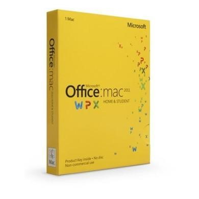 Microsoft Office Mac Home Student and Teacherent 2011 EN