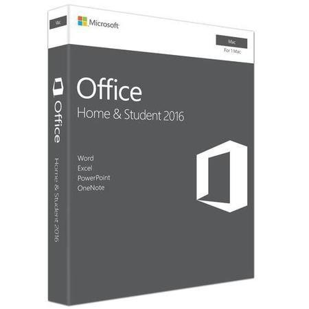 Microsoft Office Home & Student 2016 - for Mac