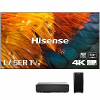 "Hisense H100LDA 100"" 4K Ultra HD Smart Laser TV with Wireless Subwoofer"