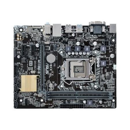GRADE A1 - ASUS H110M-K Intel H110 Chipset DDR4 Micro-ATX Motherboard
