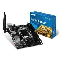 MSI Intel H170I Pro AC DDR4 LGA 1151 Mini-ITX Motherboard