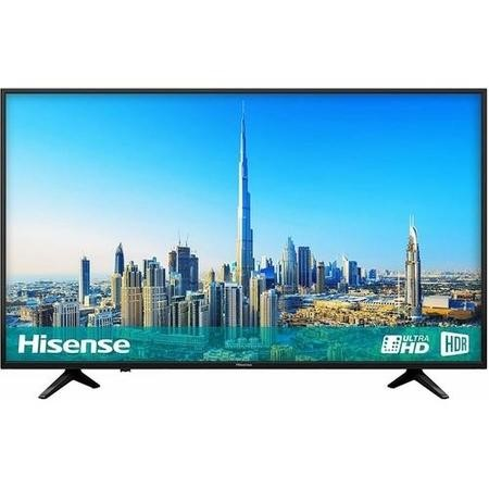"H43A6200UK Hisense H43A6200 43"" 4K Ultra HD HDR LED Smart TV with Freeview HD and Freeview Play"