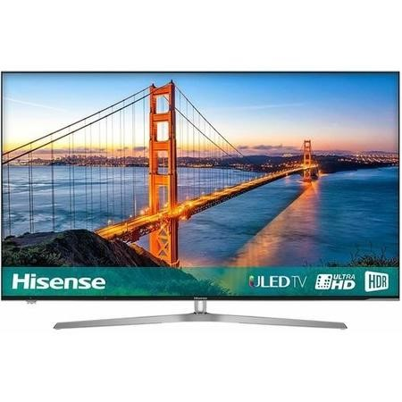"H65U7AUK Hisense H65U7AUK 65"" 4K Ultra HD HDR ULED Smart TV with Freeview HD and Freeview Play"