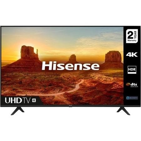 "Hisense 55A7100FTUK 55"" 4K Ultra HD HDR Smart TV with Freeview Play and Alexa Built-in"