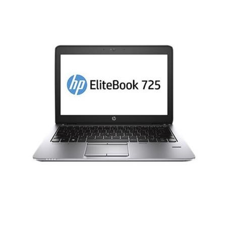 "HP 725 AMD A6 Pro-7050b 4GB 128GB sdd 12.5"" Windows 7/8.1 Professional Laptop"