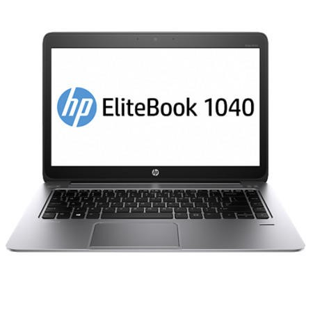 "HP 1040 Black/Silver Core i7-5600U 3.2 GHz 8GB 256GB NO OD 14"" Windows 8.1 Professional Laptop"