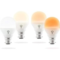LiFX Smart Mini Day & Dusk WiFi LED Light Bulb with B22 Bayonet Ending - 4 Pack