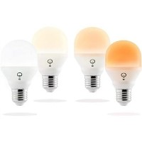 LiFX Smart Mini Day & Dusk WiFi LED Light Bulb with E27 Screw Ending - 4 Pack