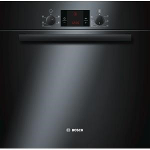Bosch HBA13B160B Classixx Black 3D Hot Air Electric Built-in/under Single Oven
