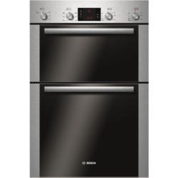 Bosch HBM43B250B Classixx Electric Built-in Double Multifunction Oven - Brushed Steel