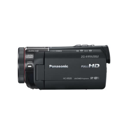 Panasonic HC-X920 3D Camcorder Black SD FHD 12xZoom 3.5LCD 29.8mm WiFi