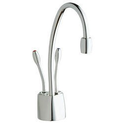 ISE HC1100BS Steaming Hot and Cold Water Tap Brushed Steel