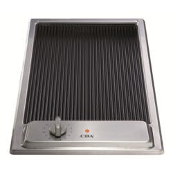CDA HCC310SS Domino Ceramic Griddle Stainless Steel