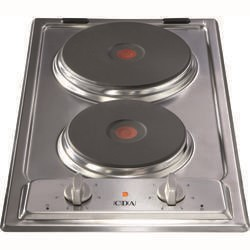 CDA HCE340SS Domino Two Zone Sealed Plate Hob Stainless Steel