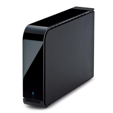 HD-LX2.0TU3-EU Buffalo Velocity 2TB External USB HDD