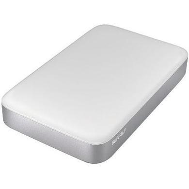 "HD-PA1.0TU3-EU Buffalo MiniStation Thunderbolt  1TB 2.5"" Portable Hard Drive in White"