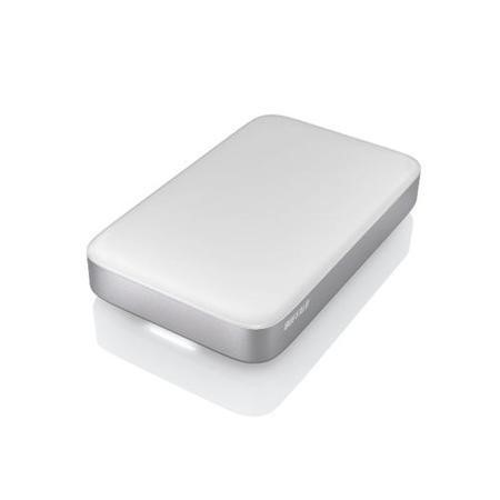 Buffalo MiniStation SSD Thunderbolt  USB3.0 128GB Portable Hard Drive - White