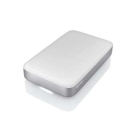 "Buffalo MiniStation Thunderbolt 2TB 2.5"" Portable Hard Drive in White"