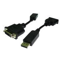 Cables Direct 15cm DisplayPort to DVI Male-To-Female Adapter