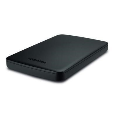"Toshiba Canvio Basics 500GB 2.5"" Portable Hard Drive in Black"