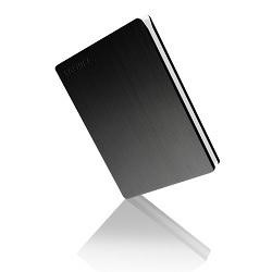 "Toshiba Canvio Slim 1TB 2.5"" Portable Hard Drive in Black"