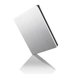 Toshiba STOR.E SLIM for Mac 1TB  Silver external HDD
