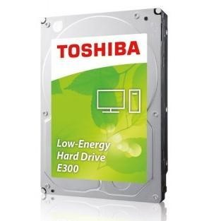 "Toshiba E300 2TB 3.5"" Energy Efficiency Internal HDD"