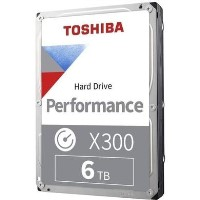 "Toshiba X300 6TB Performance 3.5"" Hard Drive"