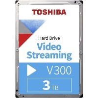 "Toshiba V300 3TB 3.5"" Video Streaming Hard Drive"