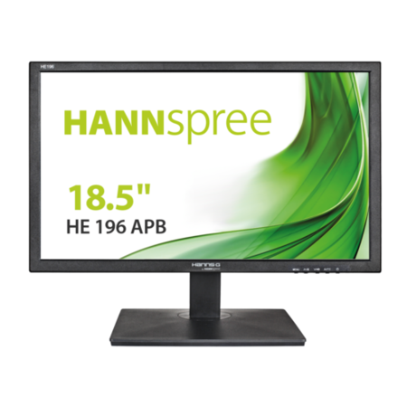"Hannspree HE196APB 18.5"" HD Ready Monitor"