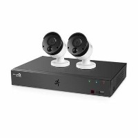 HomeGuard CCTV System - 1080p 4 Channel DVR with 2 x 1080p PIR Heat-sensing Day/Night CCTV Cameras & 1TB HDD