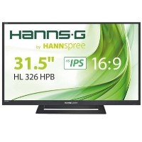 "GRADE A2 - Hannspree HL326HPB 31.5"" IPS Full HD Monitor"