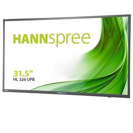 "HANNSPREE HL326UPB 31.5"" Full HD Monitor"