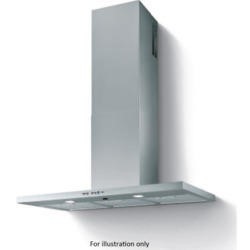 Best HOOD-UN-NE-60-SS Nettuno Shelf Style 60cm Chimney Cooker Hood Stainless Steel