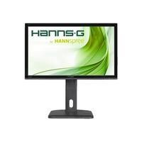 GRADE A1 - Hannspree HP245HJB 23.8 INCH ips  HDMI  DVI  Speakers  Height adjust and pivot
