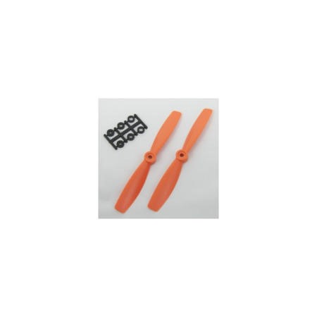 HQP010705455 HQ Prop 5045 5x4.5 CCW Propeller Pair In Orange